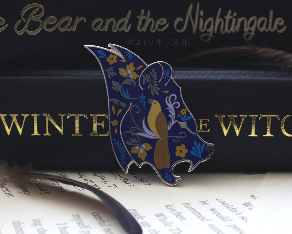 Enamel Pin The Bear and the Nightingale