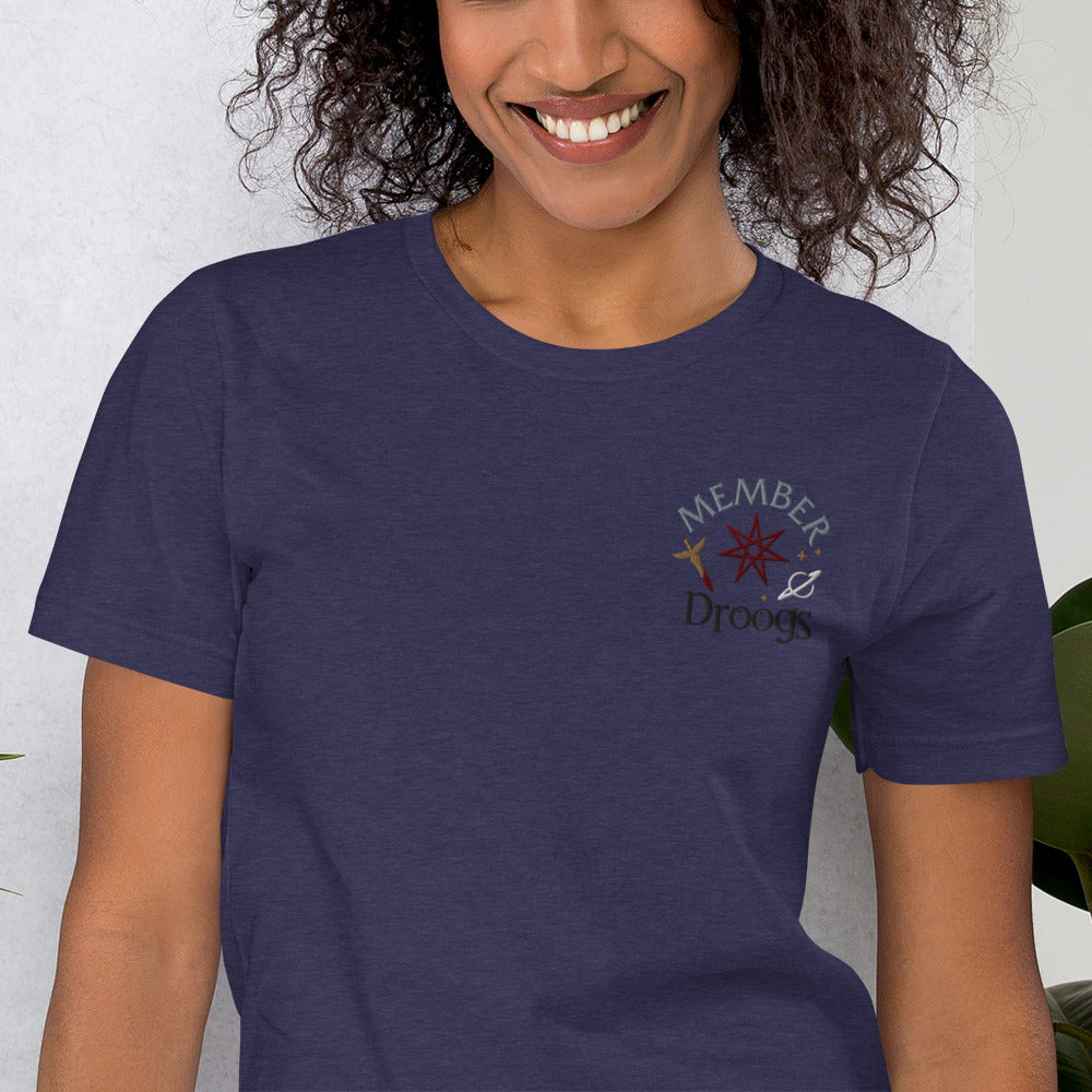 Member of the Droogs Embroidered Short-Sleeve Unisex T-Shirt