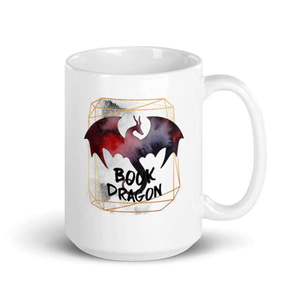 Book Dragon Mug