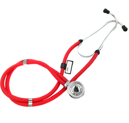 CROSS CANADA CROSSCOPE 205 - CLINICIAN SPRAGUE RAPPAPORT SERIES STETHOSCOPE - RASPBERRY RED