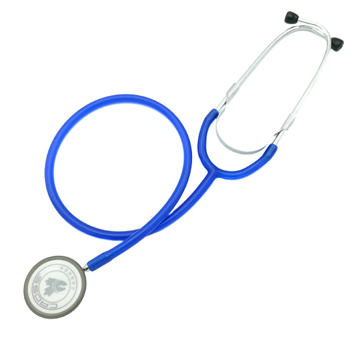CROSS CANADA CROSSCOPE 206 - ULTRA LIGHT CLINICIAN SERIES STETHOSCOPE - ROYAL BLUE