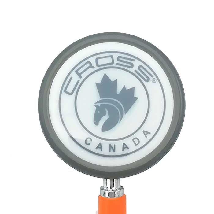 CROSS CANADA CROSSCOPE 206 - ULTRA LIGHT CLINICIAN SERIES STETHOSCOPE - ORANGE