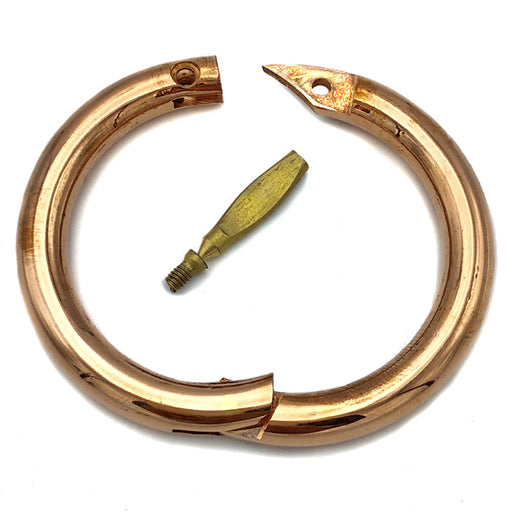 BULL RING, COPPER(bull nose ring meaning)