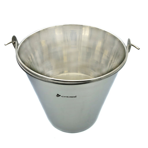 STAINLESS STEEL BUCKET, 15 LITERS