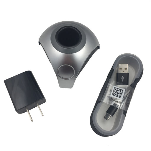 Charging Base for Rechargeable Otoscope or Ophthalmoscope, Single Handle