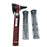 FIBER OPTIC LED POCKET OTOSCOPE DIAGNOSTIC SET - BURGUNDY