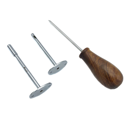 TROCAR WITH CANULAS (WOODEN HANDLE)