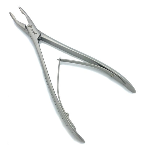 "LEMPERT RONGEUR, 7.5"" (19CM), CURVED, 2.5MM WIDE JAW"