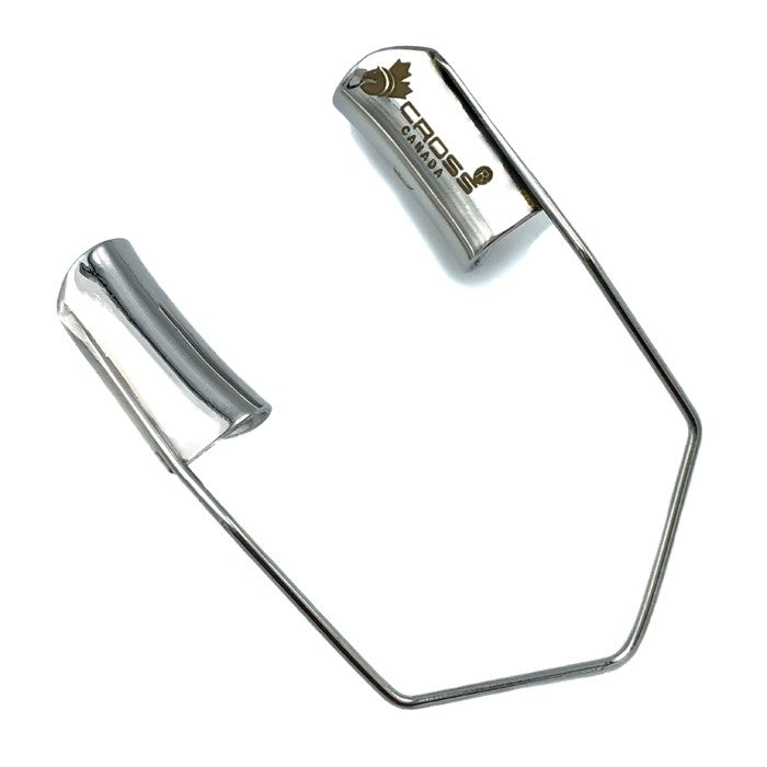 "BARRAQUER WIRE SPECULUM - 1.5"" (4CM) LONG (15MM X 5MM SOLID BLADE)"