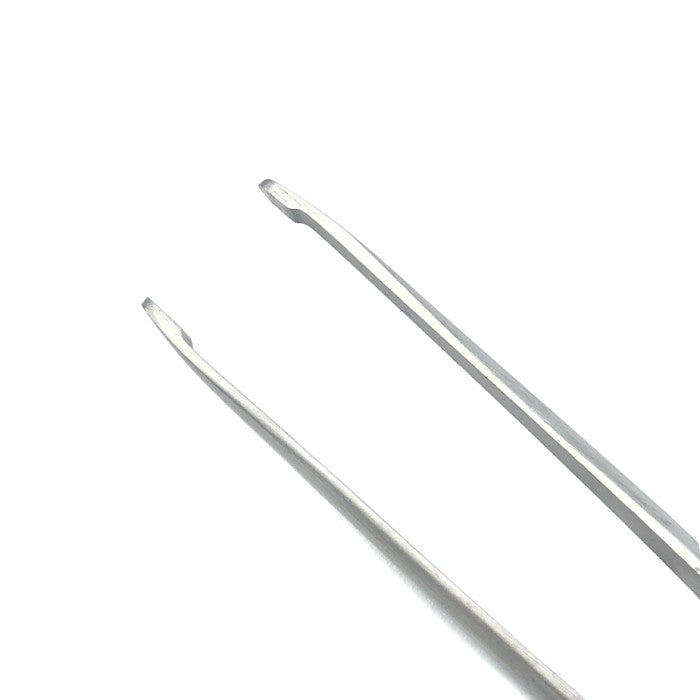 "BEER CILIA FORCEPS - STRAIGHT (SMOOTH) - 3.5"" (9CM)"