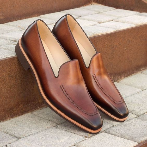 Pinterest Amber Brown Loafer