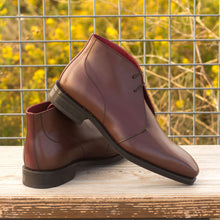 Load image into Gallery viewer, Luke Dark Brown Chukka Boot