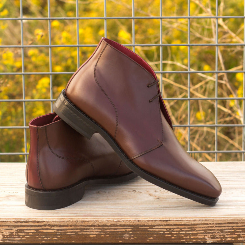 Luke Dark Brown Chukka Boot