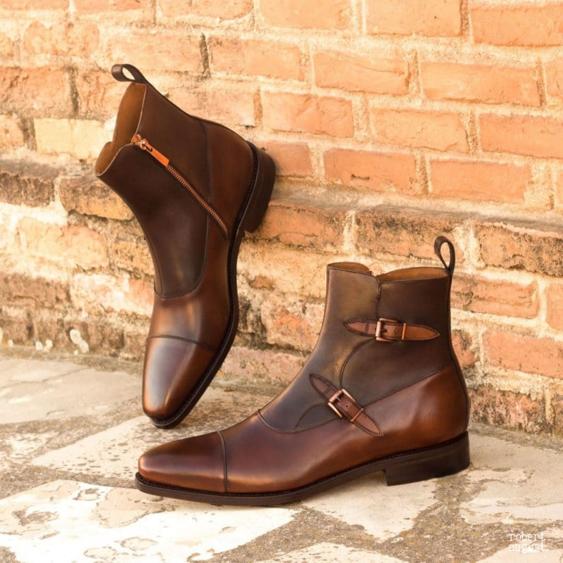 Greg Brown Leather Octavian Boot