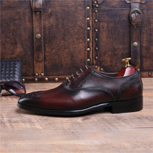 Load image into Gallery viewer, Lawrence Brown Leather Oxford