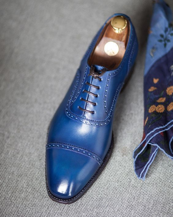 Pinterest Peacock Blue Oxford