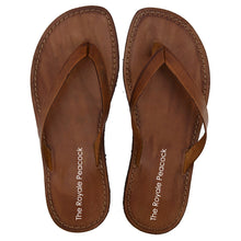 Load image into Gallery viewer, Tan Leather Chappal