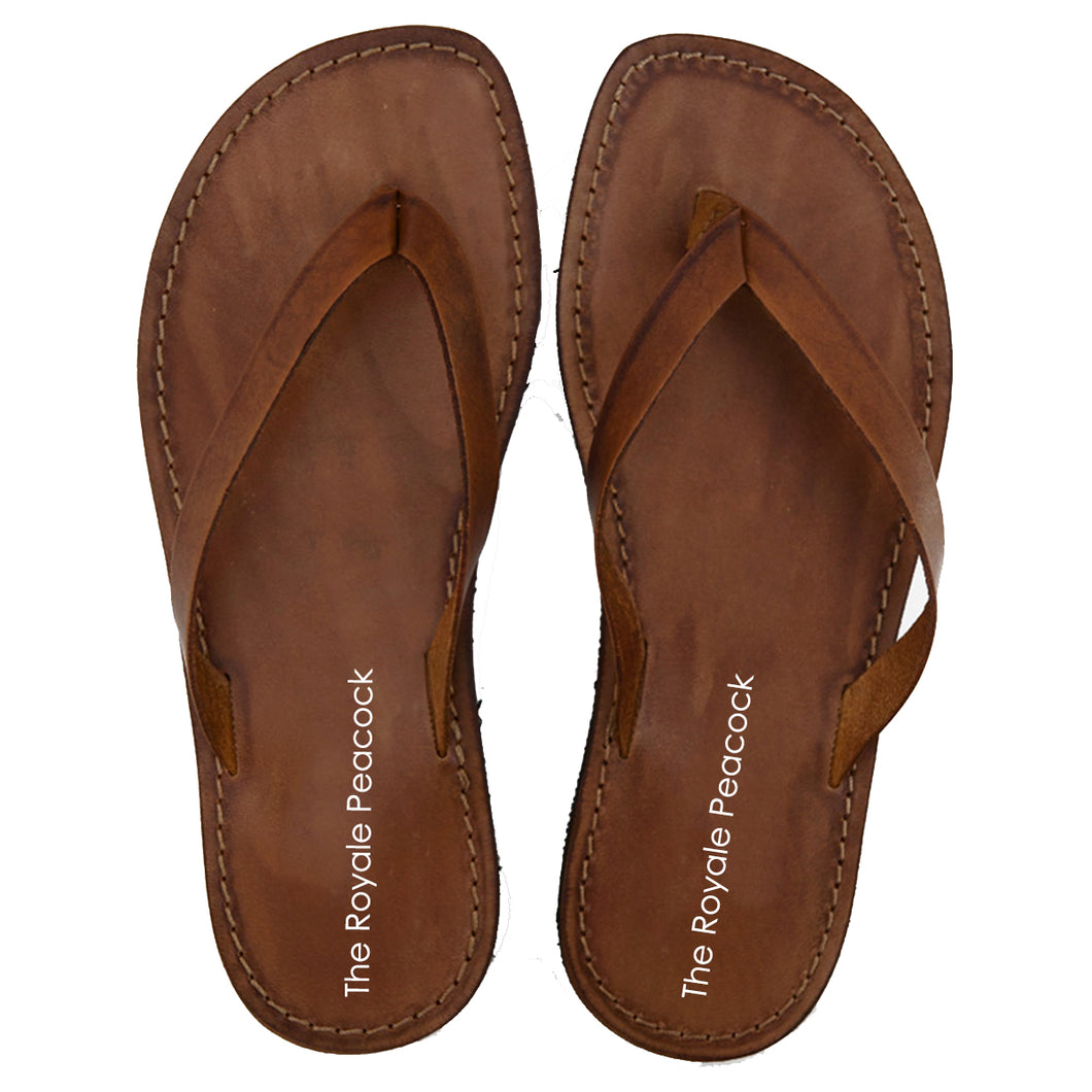 Tan Leather Chappal