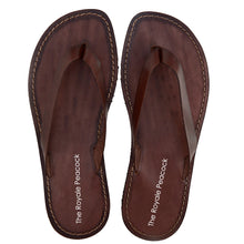 Load image into Gallery viewer, Brown Leather Chappal