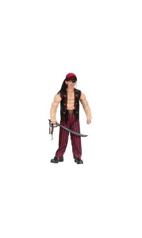Pirate Muscle Costume - Child Costume - Small