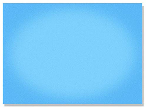 Little Folk Visuals Small Unmounted Flannel Board, Blue