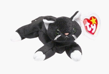 Zip The Black Cat - Ty Beanie Babies