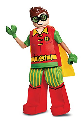 Disguise Robin Prestige Child Costume, Red, Size/(4-6)