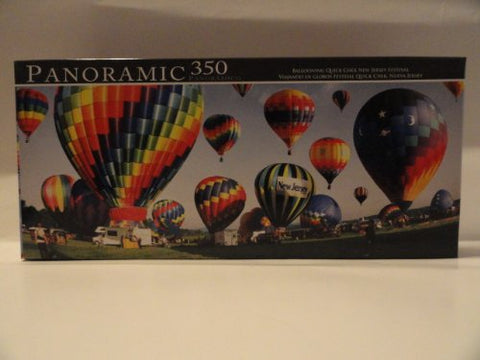 Panoramic 350 Ballooning Quick Chek New Jersey Festival Jigsaw Puzzle