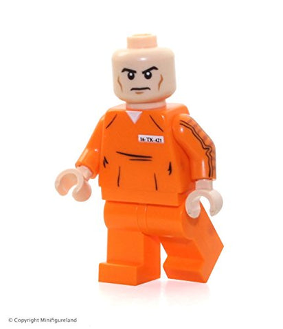Lego Super Heroes: Justice League Minifigure - Lex Luthor (In Prison Outfit)