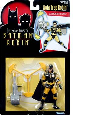 Batman: The Adventures Of Batman And Robin > Bola Trap Robin Action Figure