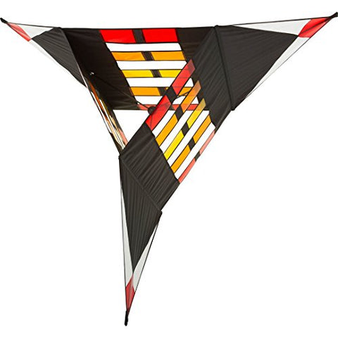 Hq Kites And Designs 106895 Hoffmans Sparkling Triangle Box Kite