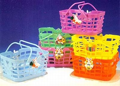 Funworld Easter Bunny Candy Baskets 6X 4-1/2
