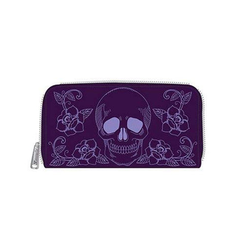 Loungefly Skull And Roses Wallet
