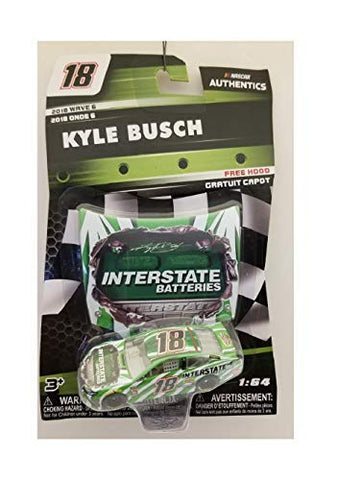 Nascar Kyle Busch Interstate Batteries Authentics 2018 Wave 6