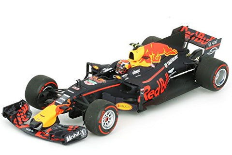 Minichamps Red Bulltag Out Rb13-2017Car Collectible, 110170033, Blue/Red/Yellow