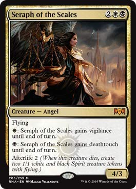 Magic: The Gathering - Seraph Of The Scales - Foil - Ravnica Allegiance
