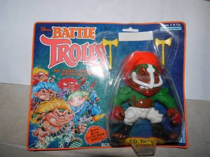 The Original Battle Trolls - T.D. Troll (1992)