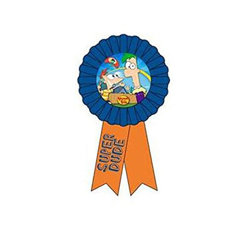 Phineas And Ferb Guest Of Honor Ribbon (1Ct)