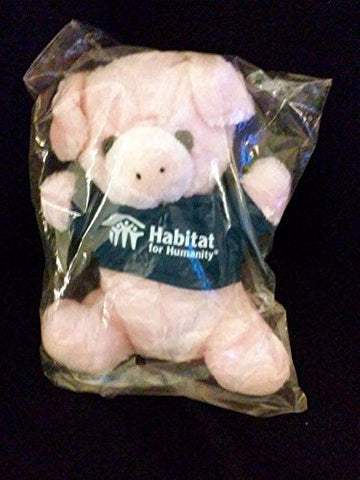 Habitat For Humanity Pink Pig Plush