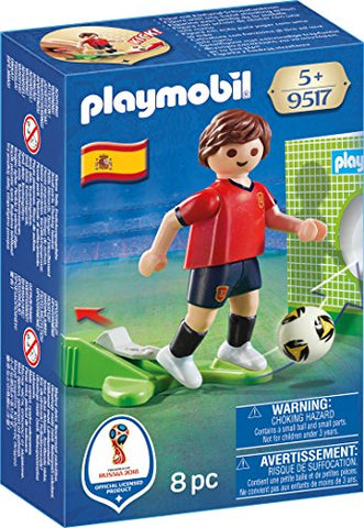 Playmobil Soccer Player Spain Buildable Figure