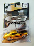 Hot Wheels G-Machines '68 Mustang, Gold, 2005, 1:50 Scale