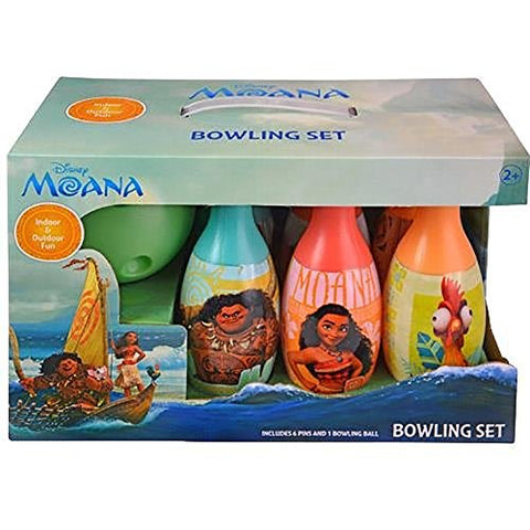 United Pacific Designs Moana Bowling Set Standard, Multicolor