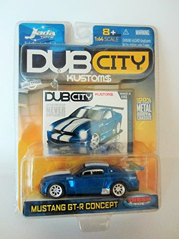 Mustang Gt-R Concept Fresh Ride Dub City Kustoms Jada Toys