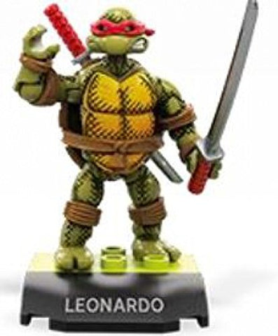 Mega Construx Heroes Teenage Mutant Ninja Turtles Leonardo Building Set