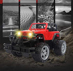Lightinthebox Rc Car Rc Jeep 1:16 Off Road Car 4Ch 2.4G Rock Crawlers Jeep Vehicle Brushless Electric Flashlight / Waterproof / Shockproof/ Door Open Control Kids Suprise Gift