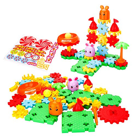 Biulotter Building Toy Set Educational Learning Stem Building Construction Toys 49 Pcs Creative Engineering Tool For 3+ Year Old Boys &Amp; Girls