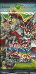 Future Card Buddyfight 100 Hundred Lot Of 5 Miracle Impack! Extra Booster Packs Bfe-H-Eb01