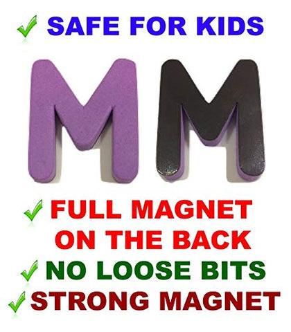 Magnetic Letters Numbers - Both Upper &Amp; Lower Case &Amp; Numbers