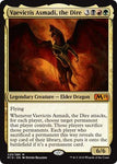 Magic: The Gathering - Vaevictis Asmadi, The Dire - Foil - Core Set 2019