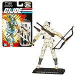 Hasbro Year 2007 G.I. Joe 25Th Anniversary Series 4 Inch Tall Action Figure - Ninja Storm Shadow With 2 Katana Swords, Quiver With Arrows, Bow, Dagger And Display Base